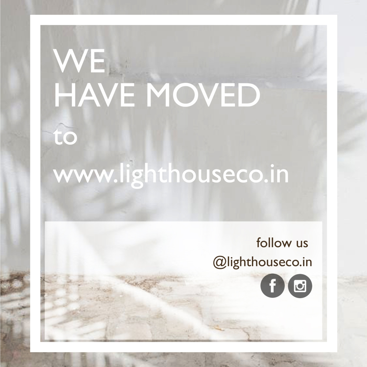 We have moved ...